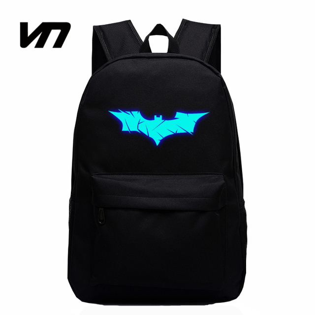Glowing Batman Backpack