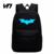 VN Sacos Marca Mochila Batman Super Hero Spiderman Para Meninos Meninas Escola Bag Crianças Backpack Mochilas Escolares Crianças Melhor Presente