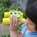 Binoculars Telesco high times 10X25 HD All-optical green film waterproof telescope Toys for Children Christma Gift Free shipping