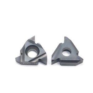 Image 2 - 10 ピース 16 ER AG 60 LDA 超硬インサート高品質スレッディング刃コーティングされた CNC 旋盤ツールを切断するためのと鋳鋼