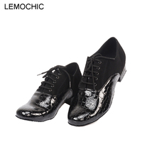 LEMOCHIC Newest Latin Sumba Cha Cha Pole Salsa High Heels Shoes Elegance Comfortable Arena Classical Men