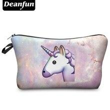 Deanfun 3D Printing Travel Cosmetic Bag 2016 Hot-selling Women Brand New H53