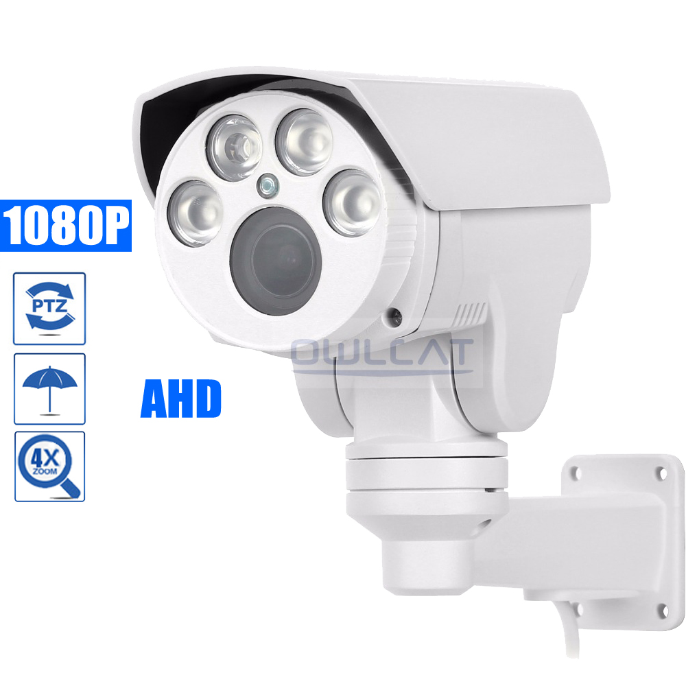 OwlCat HD 1080P Analog HD IR PTZ AHD Camera Outdoor AHDH 4X 10X Optical Zoom Auto Focus 2.8-12mm 5-50mm 2MP Security CCTV CameraOwlCat HD 1080P Analog HD IR PTZ AHD Camera Outdoor AHDH 4X 10X Optical Zoom Auto Focus 2.8-12mm 5-50mm 2MP Security CCTV Camera