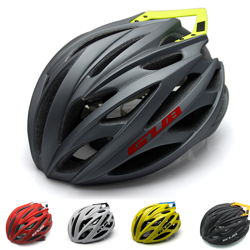GUB Professional Safety Bicycle Helmet with Windbreak Tail City Road Bike Racing Outdoor Sports Cycling Helmet