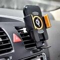100% genuino coche qi cargador inalámbrico para samsung s6 s6 edge plus casos cargador de coche inalámbrico para samsung s7 s7 edge note 5 nota7