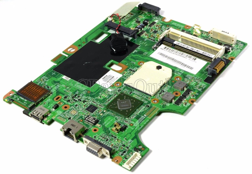 original Motherboard 486550-001 for HP Compaq Presario CQ50 CQ60 G50 G60 laptop Notebook PC motherboard systemboard 100% Test ok wholesale for compaq presario g57 cq57 motherboard 646177 001 genuine laptop mainboard 100