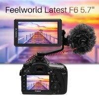 Feelworld F6 5,7 4 К HDMI на Камера монитор, предназначенный для 4 К DSLR и беззеркальных Камера с наклон руки и Мощность Выход