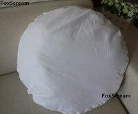 White Round Pillow Filler Non Woven Cushion Core Insert Pillow Inner Filler Cushion Filling Home Decor