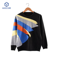New Autumn Models Men S Pullover Sweaters Long Sleeve Knitted And Round Neck Sweaters For Men