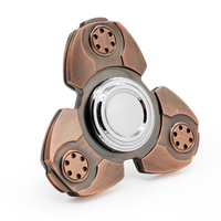 8 Minutes Metal Fidget Spinner Finger Toy Stainless Steel EDC Hand Spinner Rotation Time Long Anti