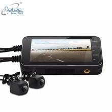 Relee Motorrad Elektronik DVR Dash Cam 1080 P wasserdichte Motorrad Kamera GPS DVR Motor Sicherheit WIFI Kamera Black box DVR