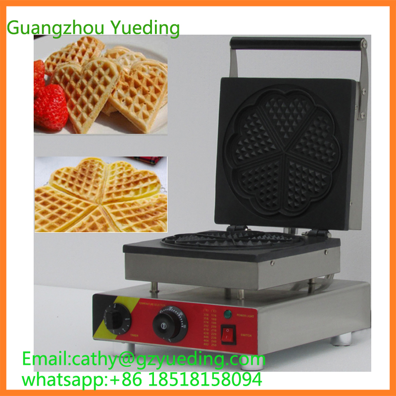 Free shipping CE approved China Heart shape waffle maker commercial/waffle pops maker/bubble waffle directly factory price commercial electric double head egg waffle maker for round waffle and rectangle waffle