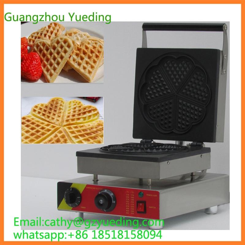 Frete grátis CE aprovado China coração waffle comercial/pops fabricante de waffle/waffle bolha