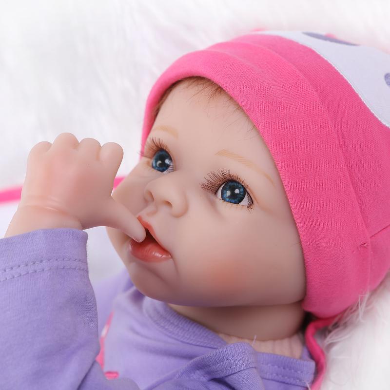 Doll Baby D075 55CM 22inch NPK Doll Bebe Reborn Dolls Girl Lifelike Silicone Reborn Doll Fashion Boy Newborn Reborn Babies warkings reborn