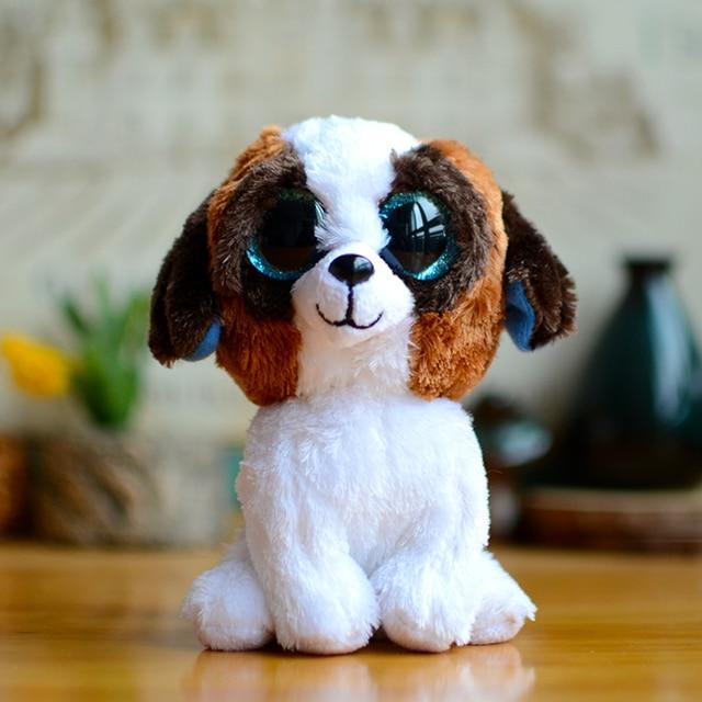 116dcb2e583 Ty Beanie Boos Kids Plush Toys Big Eyes Colorful Duke Dogs Christmas Gifts  Lovely Children Kawaii Cute Soft Stuffed Animal Dolls