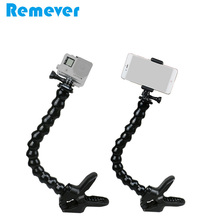 32cm Flexible Goose Neck Selfie Stick with Holder for Iphone Xiaomi Samsung Huawei 3.5-6inchs Android Phones Monopod for GoPro flexible octopus monopod goose neck for gopro cameras selfie stick with phone holder for iphone xiaomi huawei samsung phones
