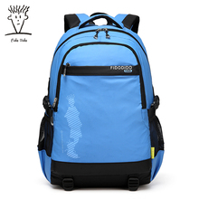Fido Dido школьная сумка в духе колледжа сумка женский альпинизм мешок большой Ёмкость путешествия рюкзак!
