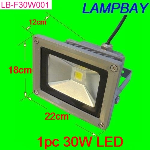 LED Floodlight 30W IP65 Warm White Natual White Cold White RGB with remote controller 85-265V lamp steetlight
