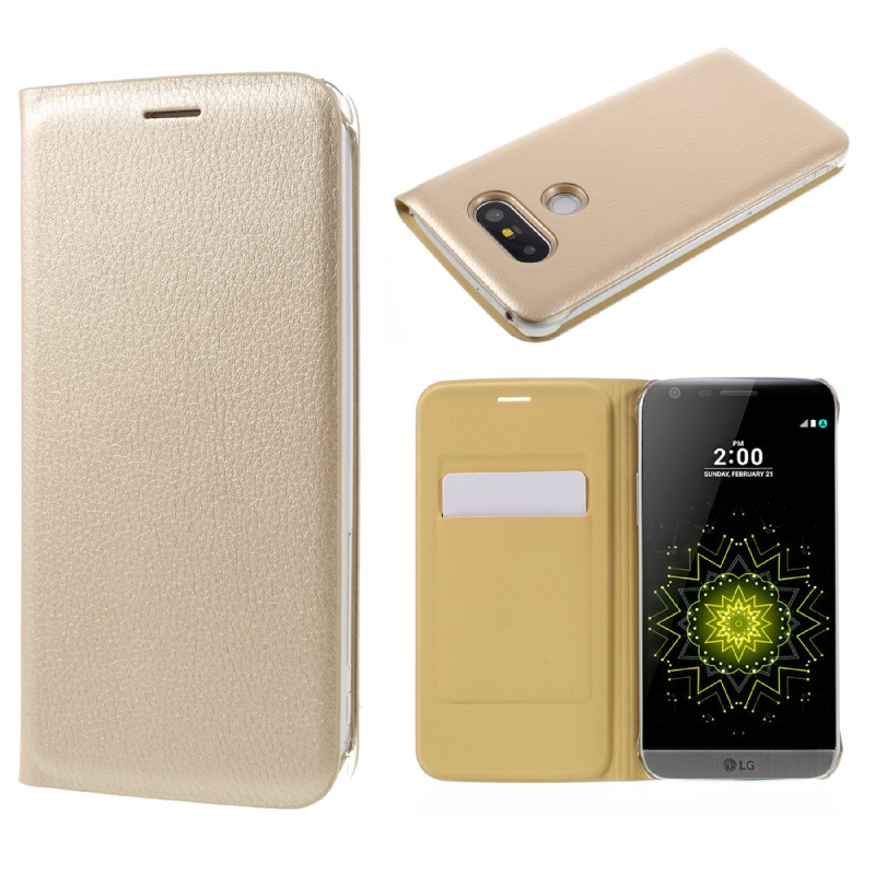 LG5 / G5SE غطاء واقي بي يو جلدي لاجهزة 13