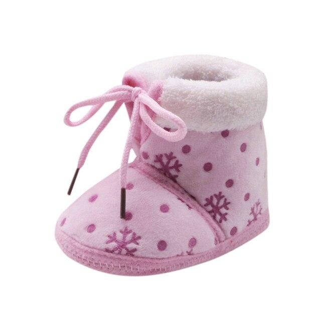 Scarpe per le ragazze bambini Stivaletti bambini calzature per neonati  Primi pattini Del Bambino di Natale 9c64c4a27e1