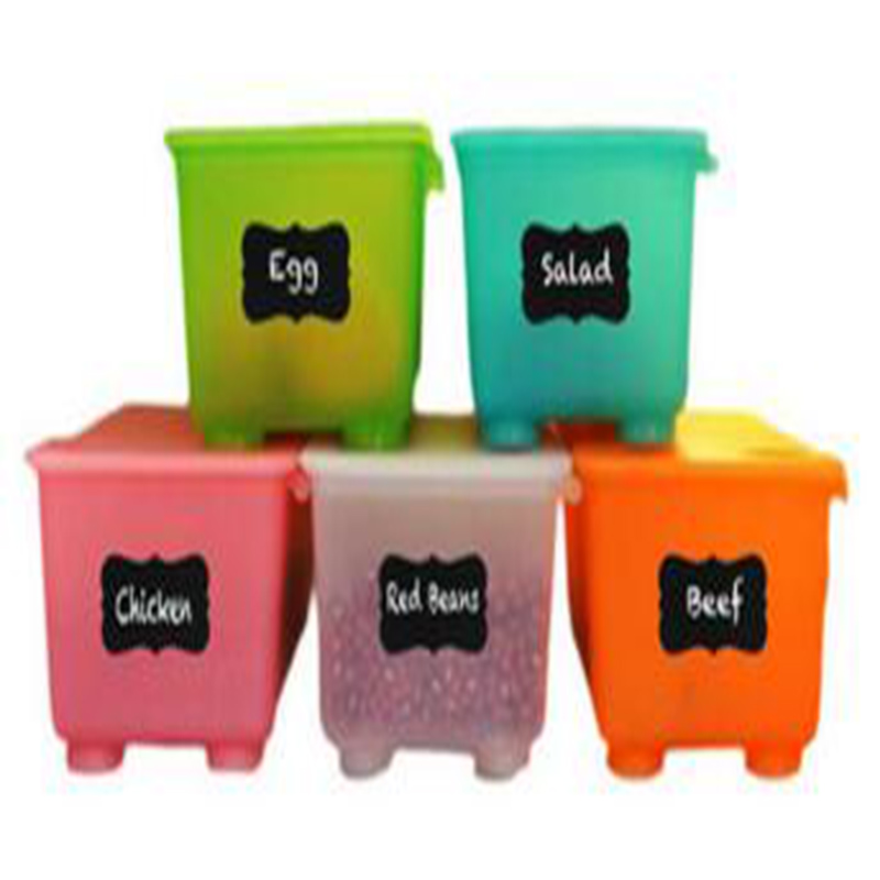 Wootile Blackboard Sticker Craft Kitchen Jar Organizer Labels Stickers Black waterproof and removable chalkboard label in Wallpapers from Home Improvement