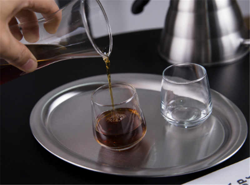 304 aço inoxidável coreia oval placa de bolo de café copo bandeja bife pan frutas pratos prato prato prato prato de sobremesa talheres conjunto