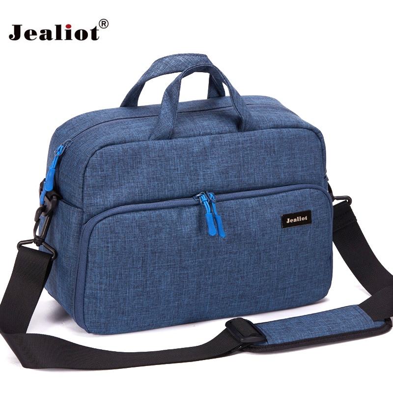 Jealiot dslr camera bag SLR digital camera Women men shoulder Travel bags waterproof Video Photo lens case for canon 1300d Nikon