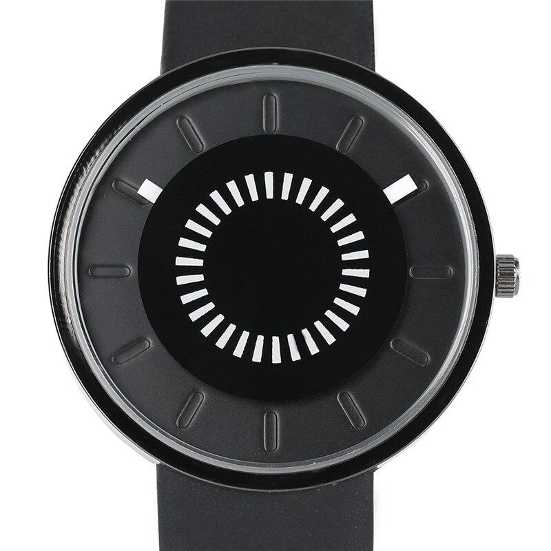2017 New Arrival Fashion Men Women Quartz Wristwatch PU Leather Design Band Sport Casual Unique Dial Hot Sale Wacthes Best Gift