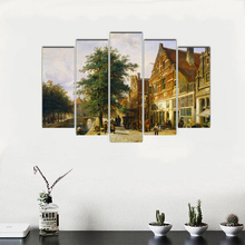Canvas Paintings Poster Modular Decor Room Wall 5 Pieces Pictures Art Framed HD Prints