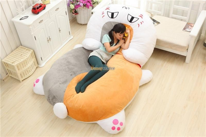 Fancytrader 210cm X 150cm Huge Giant Cute Cat Tatami Bed Carpet Sofa, Gift For Girls, Free Shipping FT90287 (3)