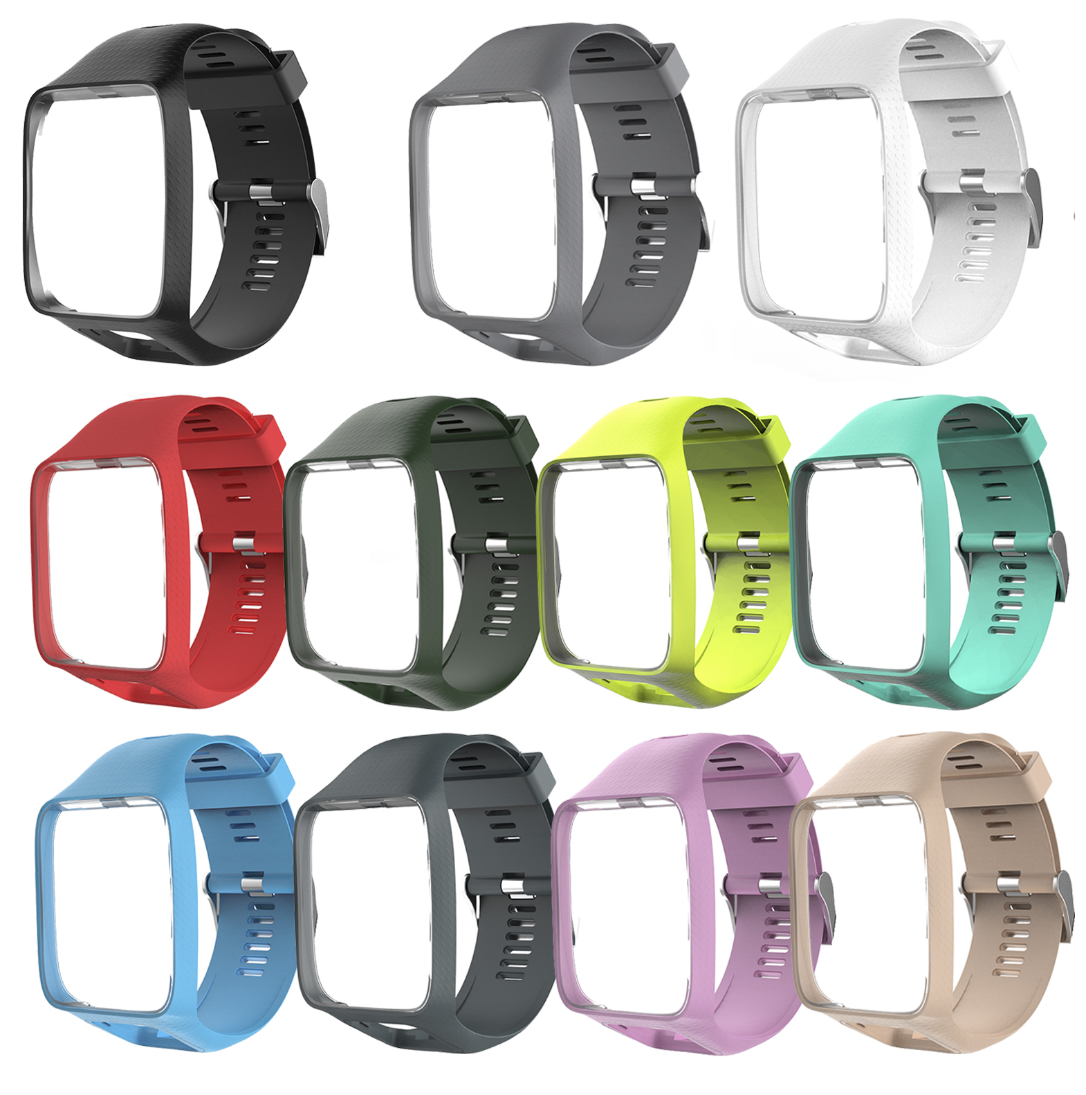 Handgelenk Band Uhr Strap für TomTom 2 3 Ersatz Armband Weichen Armband Silikon Gürtel für Runner Funken Uhr Fitness Tracker