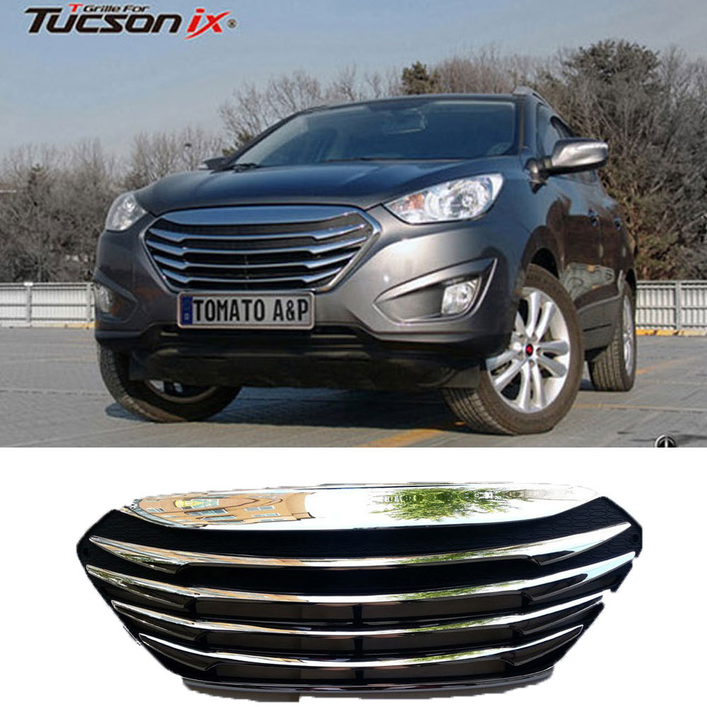 2013 Hyundai Tucson: New Front Hood Radiator T Grill CHROME Tuning For 2010