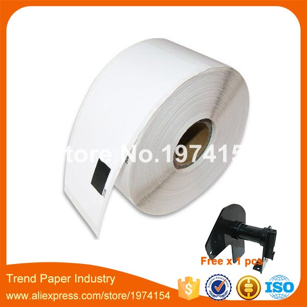 100 x Rolls Brother DK 11208 White Standard Large Address Label 38mm x 90mm 400 labels