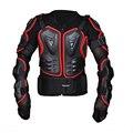 Protetor de o-pesco ço Pecho Armadura llena de la Chaqueta de La Motocicleta que compite con la armadura protector Armor Motor Motocross armadura motocross