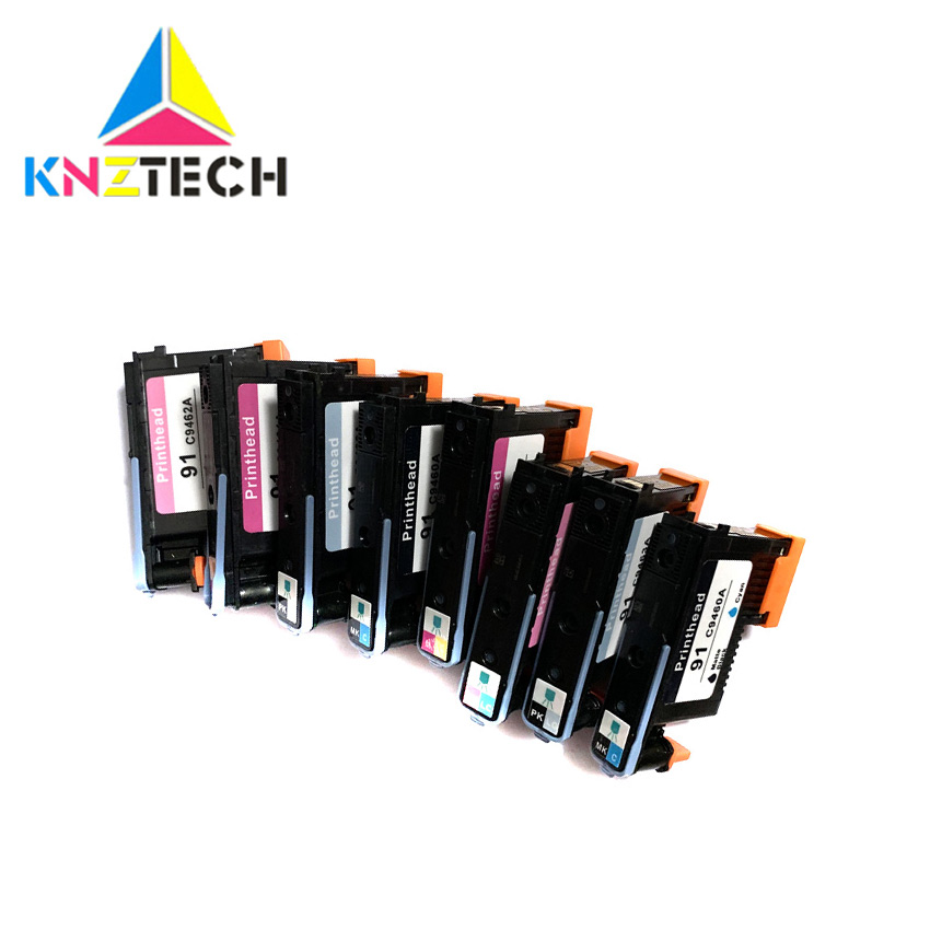 2set/8pcs Repace For Hp 91 Compatible For For91 Printhead Replace For Hp91 C9460A C9461A C9492A C9463 Print Head