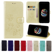 Wallet Cover For Xiaomi Mi 5X A1 Redmi 5 Plus Y1 Lite Note 5A Prime 4A 4X 4 Global Stand Holder TPU Soft Card Leather Flip Case