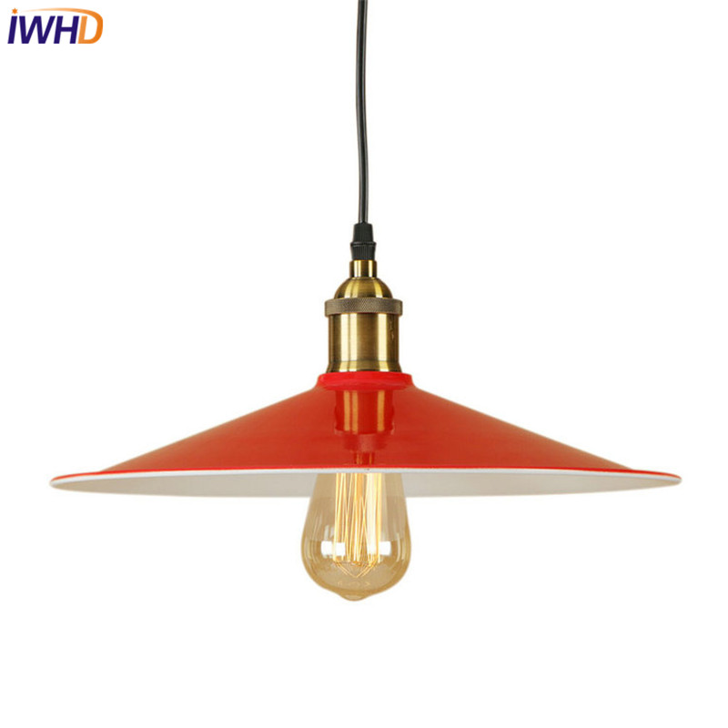 American Loft Style Iron Retro Droplight Edison Industrial Vintage Pendant Light LED Fixtures For Dining Room Hanging Lamp стоимость