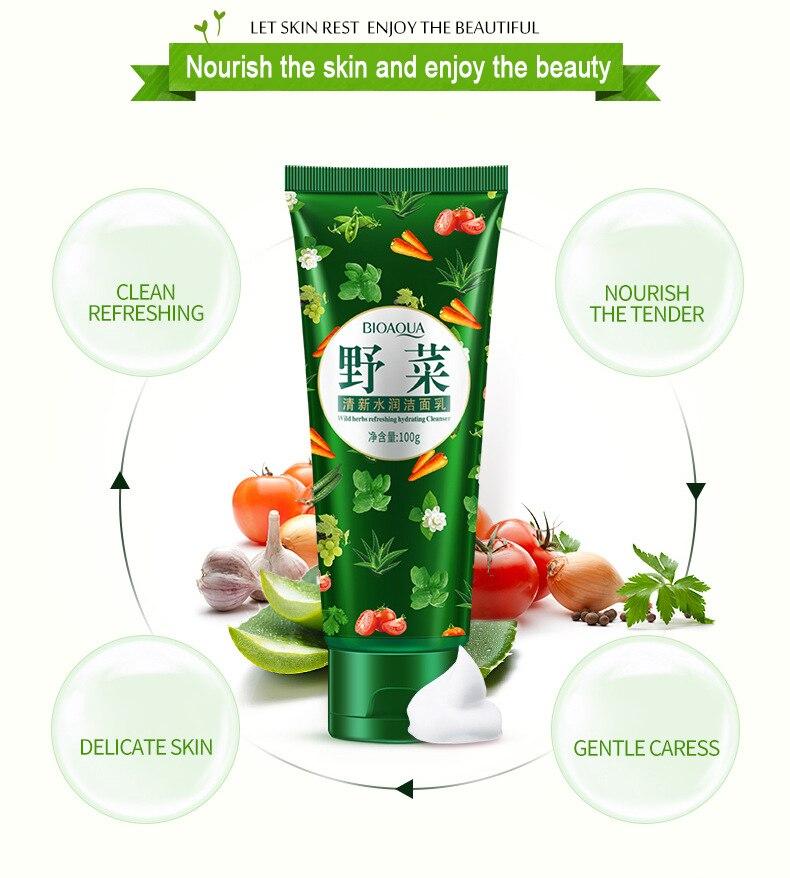 TWILA: Cleanser facial fruit natural vegetable