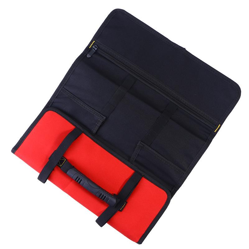 WINOMO Multi-Pocket Car Repair Tools Foldable Bag Handheld Roll Bag Auto Hardware Tool Organizer