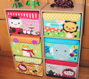 High Quality Childrenu0027s Day Gift Exported To Japan Cartoon Storage Box Finishing Me Baby  Green Baby Clothes Storage