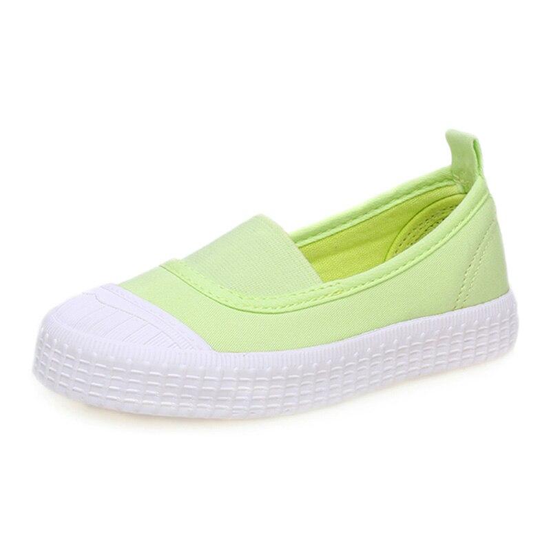 Dzieci dziewczyny koreański dzieci różowy ragazza boat shoes moda trampki gumowe miękkie dno płótnie trampki platformy shoes 60k079