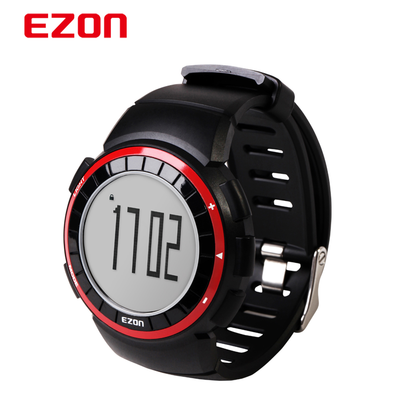 EZON Fashion Outdoor Running Watches Sports LED Digital Men Quartz Wristwatches Shock Resistant Montre Waterproof Male Watch