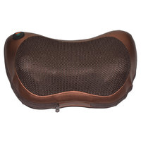 Home Car Dual Use Electric Infrared Heating Kneading Neck Shoulder Back Body Spa Massage Pillow Car
