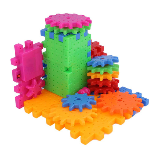 OCDAY 81 Pieces Electric Magic Gears Plastic