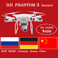 DJI Phantom 3 Standard 6ch Blushless RTF Drone With 2.7K HD Camera Gimbal RC Quadcopter FPV Drone NO TAXES VS DJI Mavic pro