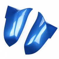 1 Pair Blue Auto Car Wing Door Rearview Mirror Cover Trim Case Car Styling for BMW 3 Series F30