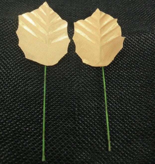 50pcs Artificial Leaf Leaves Flower Bouquet Garland Wreath Cap Decoration Craft