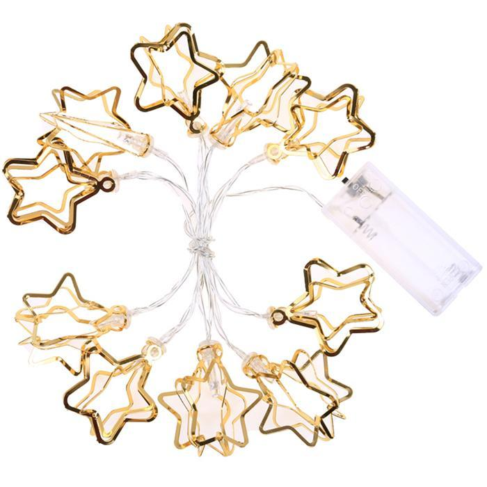 Star Shape Led Fairy Strip Light Christmas Home Party Wedding Party