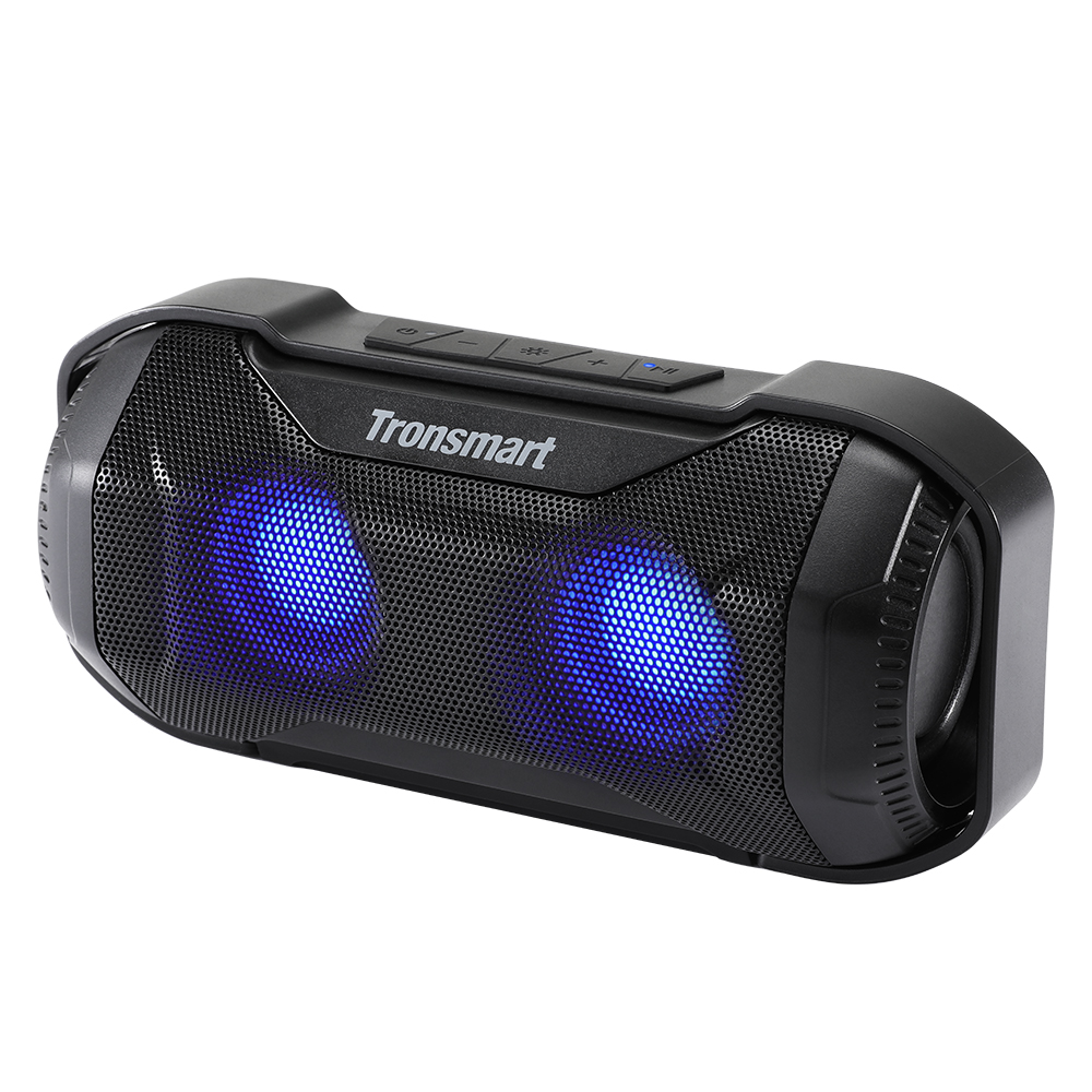 Tronsmart Blaze Bluetooth Speaker 10W IPX56 Column Waterproof Speaker with Superior Bass & LED Lights for bicycle sports 1