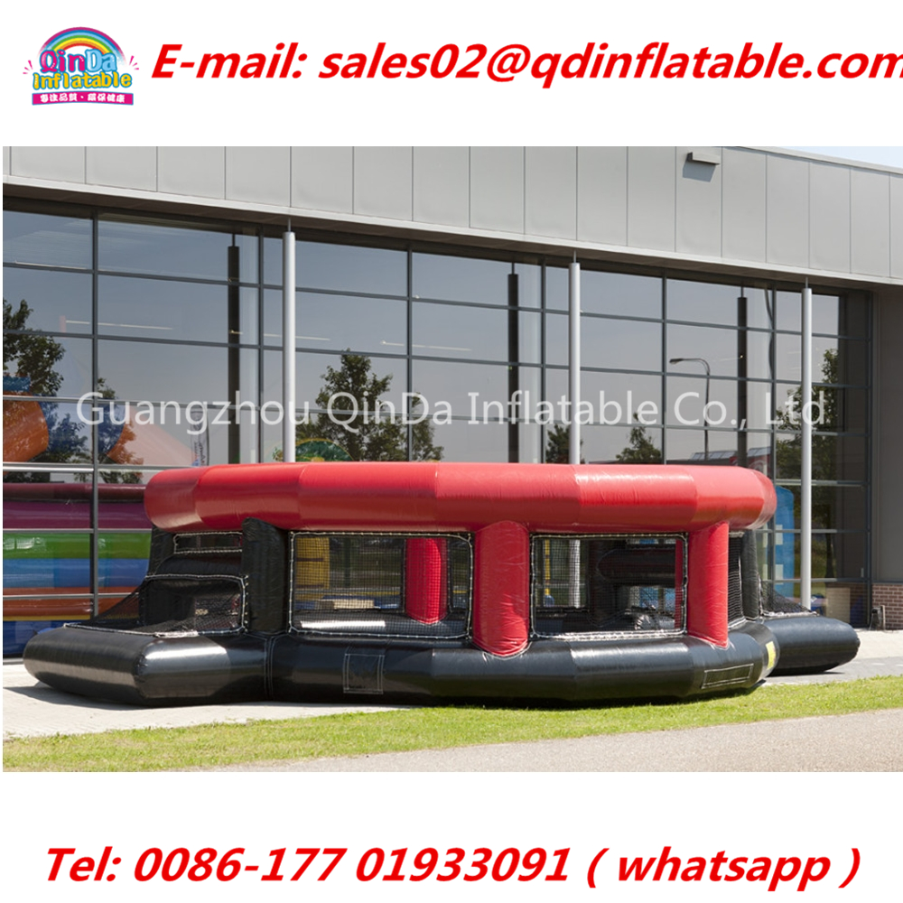China Factory Inflatable Panna Soccer Panna Cage, Inflatable Basketball Field For Sale Speed Cage, Inflatable Football Game ao058m 2m hot selling inflatable advertising helium balloon ball pvc helium balioon inflatable sphere sky balloon for sale
